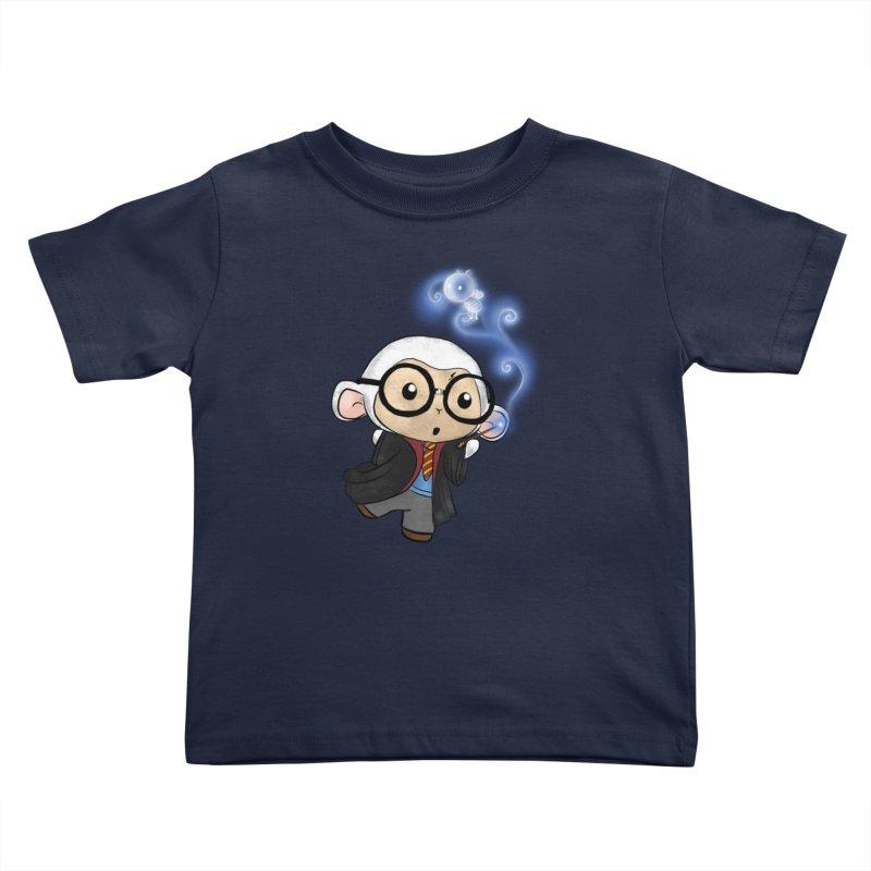 Lambie Potter and his Patronus Kids Toddler T-Shirt by Dino & Panda Inc Artist Shop