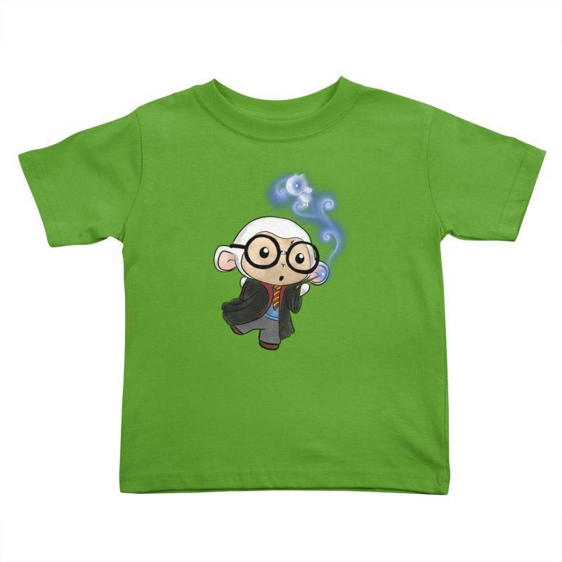 Lambie Potter and his Patronus Kids Toddler T-Shirt by Dino & Panda Artist Shop