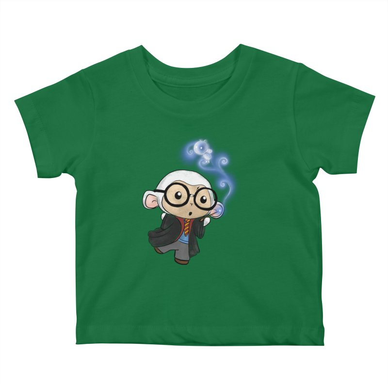 Lambie Potter and his Patronus Kids Baby T-Shirt by Dino & Panda Artist Shop