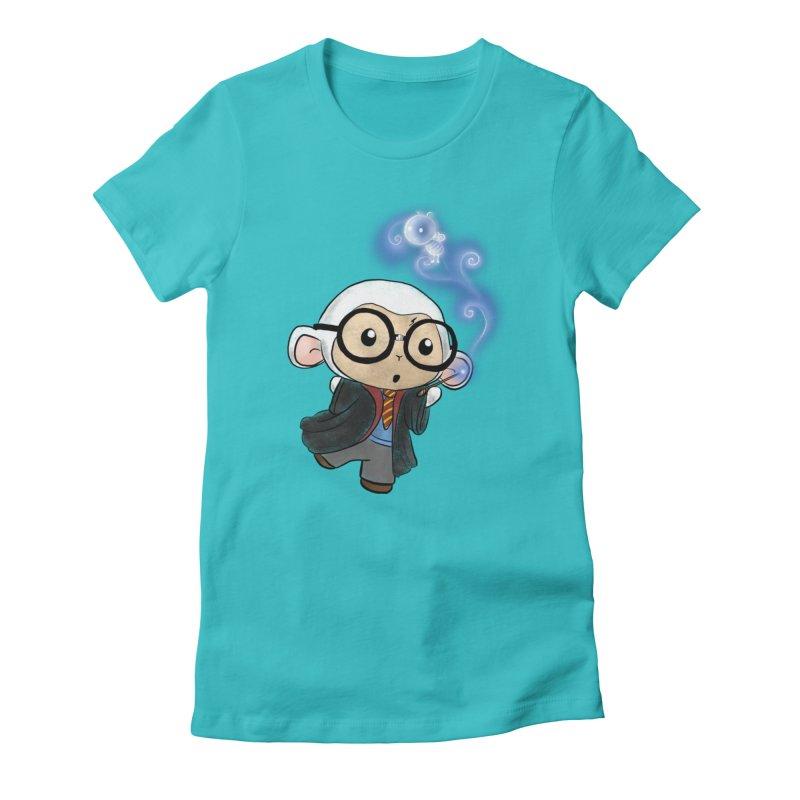 Lambie Potter and his Patronus Women's T-Shirt by Dino & Panda Artist Shop