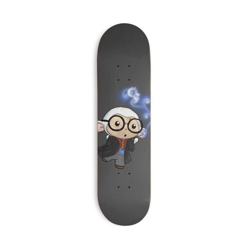 Lambie Potter and his Patronus Accessories Deck Only Skateboard by Dino & Panda Inc Artist Shop