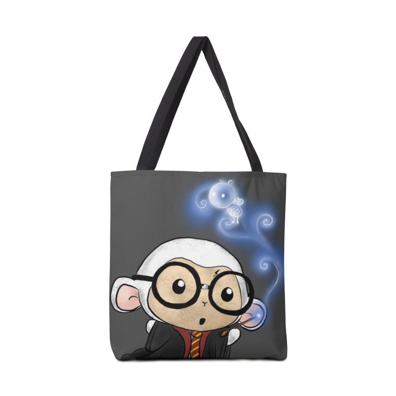 Lambie Potter and his Patronus Accessories Bag by Dino & Panda Artist Shop