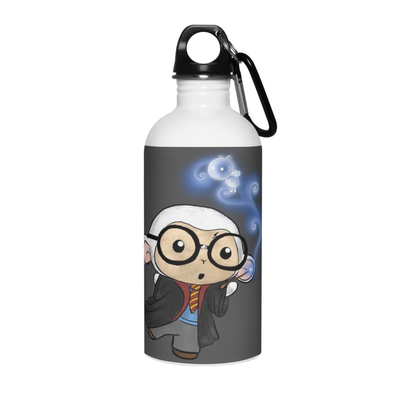 Lambie Potter and his Patronus Accessories Water Bottle by Dino & Panda Inc Artist Shop