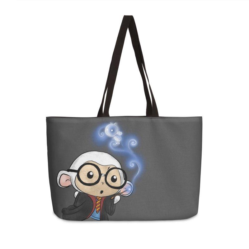 Lambie Potter and his Patronus Accessories Weekender Bag Bag by Dino & Panda Inc Artist Shop
