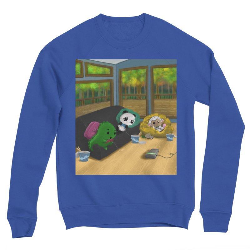 Dino, Panda, and Lambie Gamers Women's Sweatshirt by Dino & Panda Artist Shop