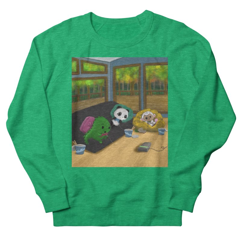 Dino, Panda, and Lambie Gamers Women's Sweatshirt by Dino & Panda Artist Shop