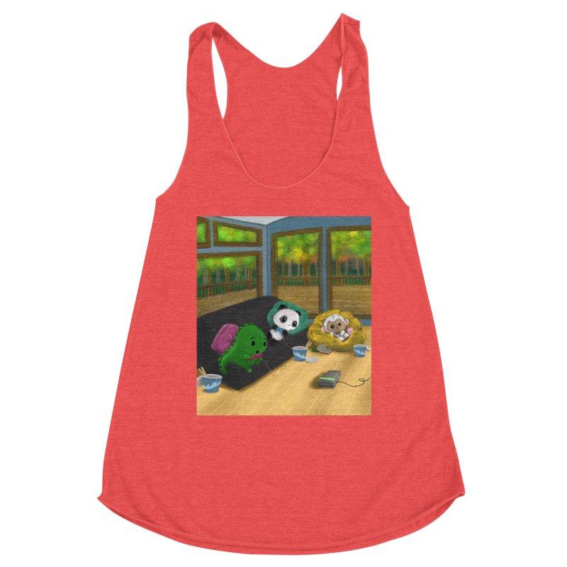 Dino, Panda, and Lambie Gamers Women's Tank by Dino & Panda Artist Shop