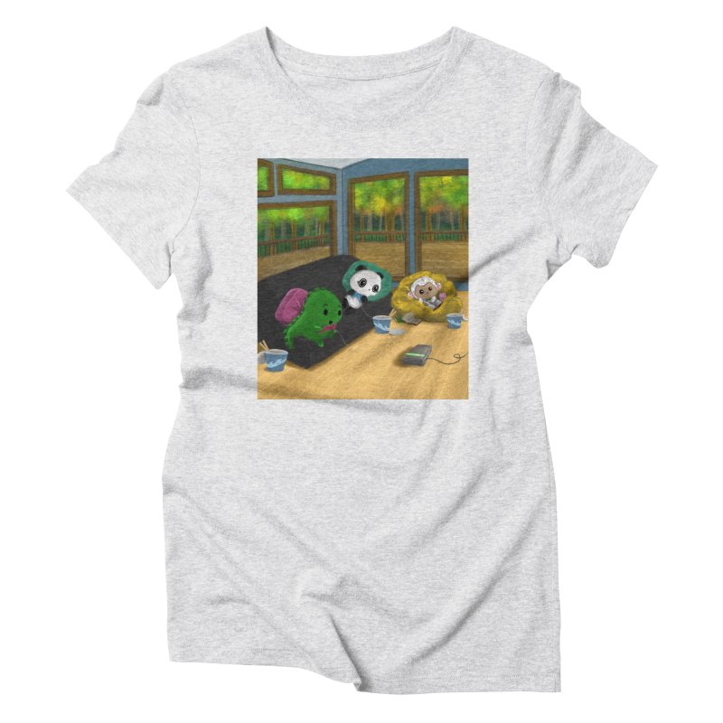 Dino, Panda, and Lambie Gamers Women's T-Shirt by Dino & Panda Artist Shop