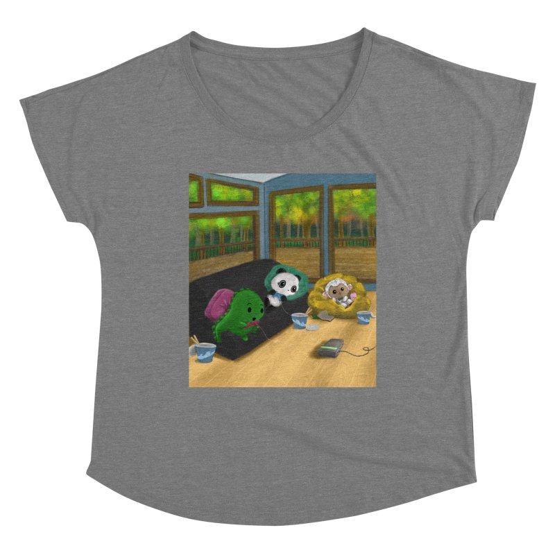 Women's None by Dino & Panda Artist Shop