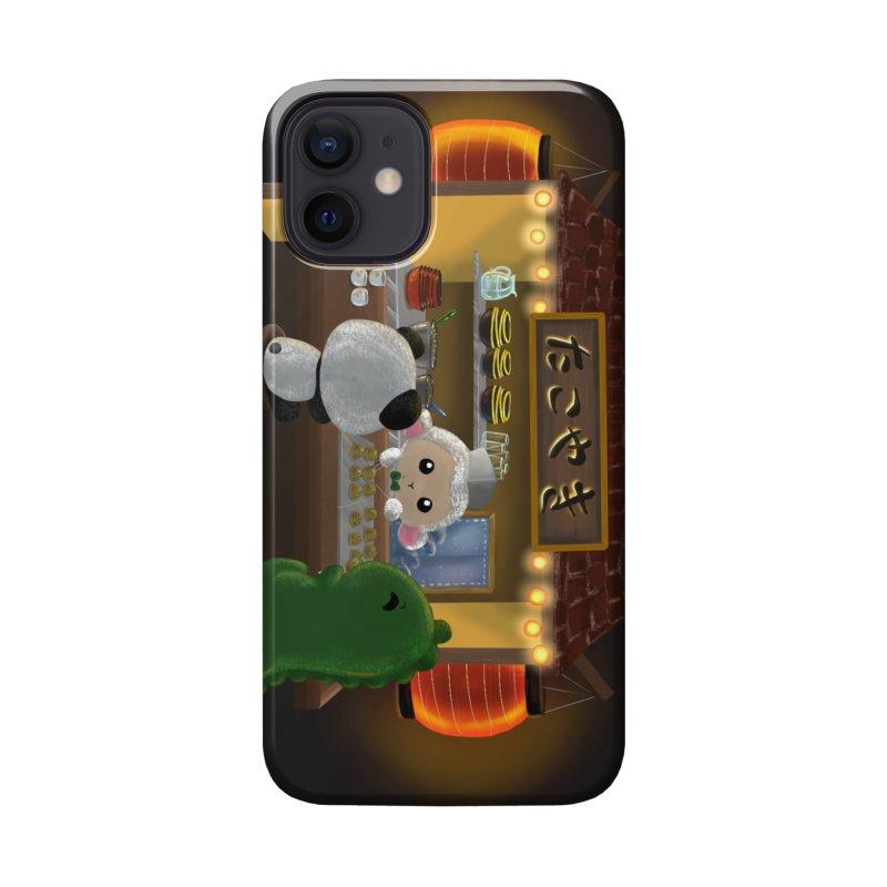 Lambie's Takoyaki Stand Accessories Phone Case by Dino & Panda Artist Shop