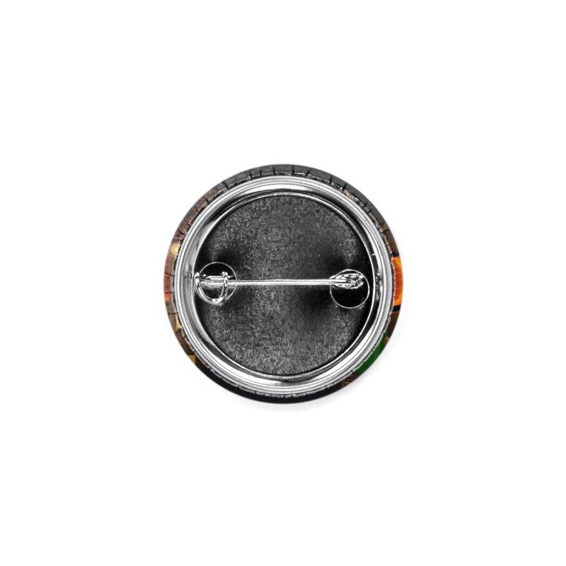 Lambie's Takoyaki Stand Accessories Button by Dino & Panda Artist Shop