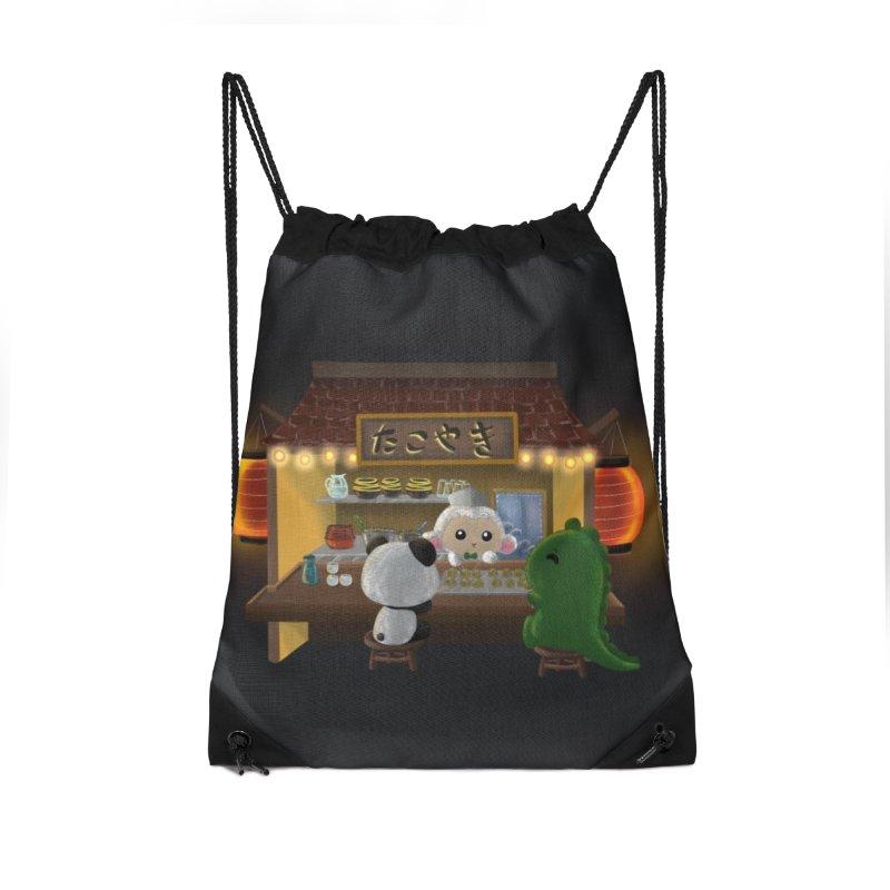 Lambie's Takoyaki Stand Accessories Bag by Dino & Panda Artist Shop
