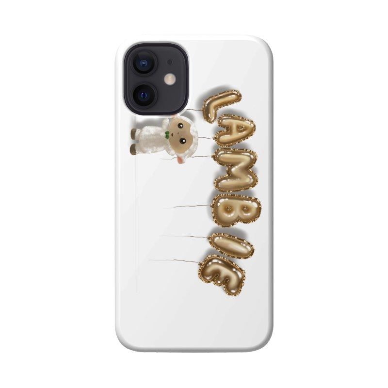 Lambie's Metallic Balloons Accessories Phone Case by Dino & Panda Artist Shop