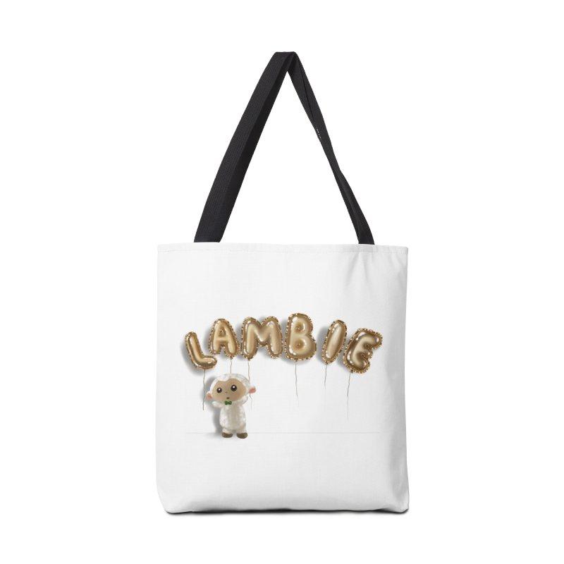 Lambie's Metallic Balloons Accessories Bag by Dino & Panda Artist Shop