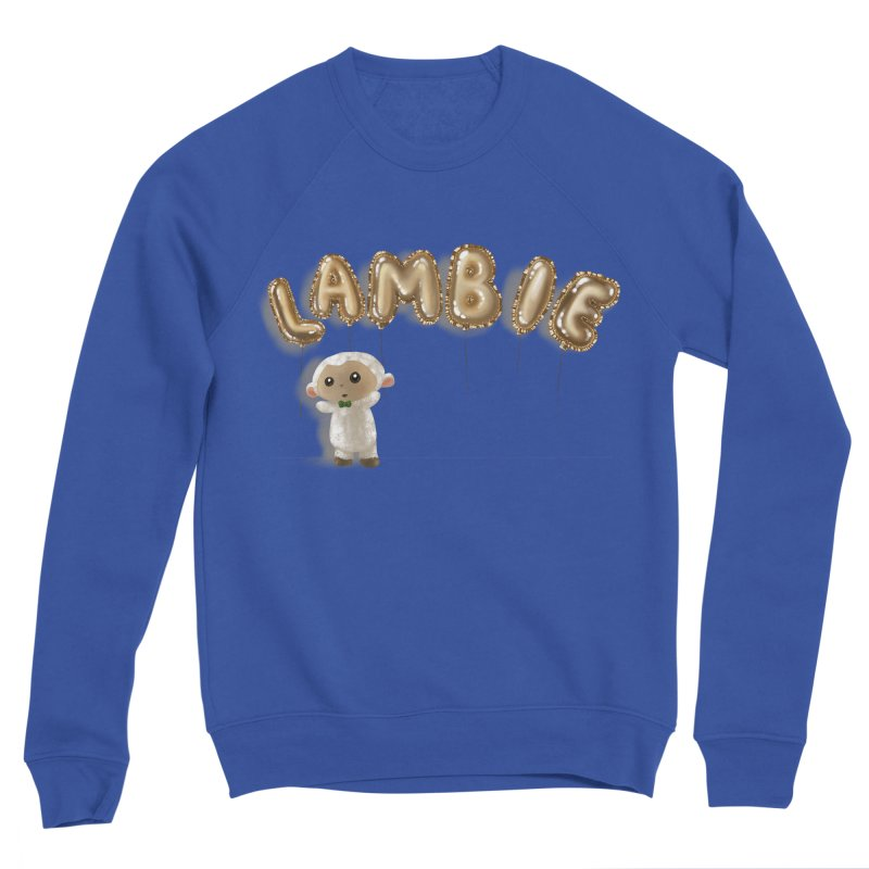 Lambie's Metallic Balloons Women's Sweatshirt by Dino & Panda Artist Shop