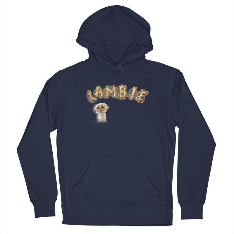Lambie's Metallic Balloons Men's Pullover Hoody by Dino & Panda Artist Shop