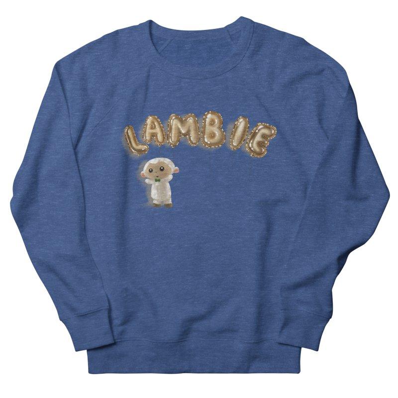 Lambie's Metallic Balloons Men's Sweatshirt by Dino & Panda Artist Shop