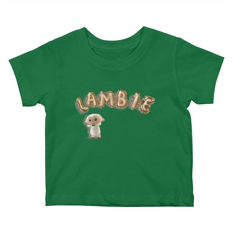 Lambie's Metallic Balloons Kids Baby T-Shirt by Dino & Panda Artist Shop
