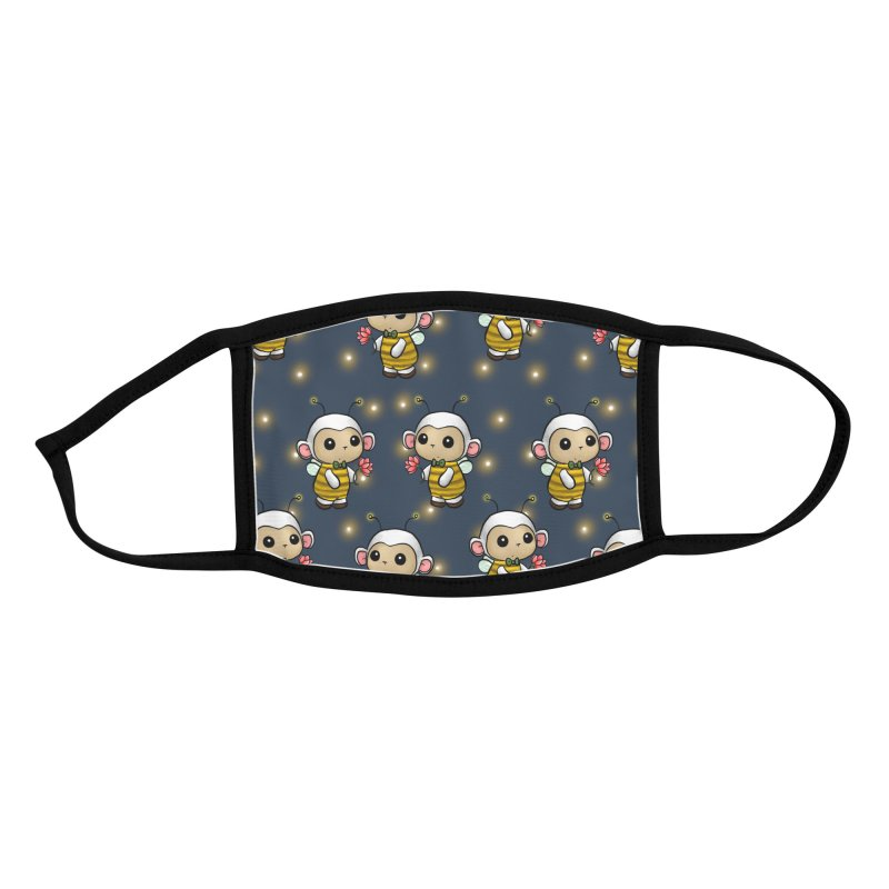 PositiviBee Lambie Accessories Face Mask by Dino & Panda Artist Shop