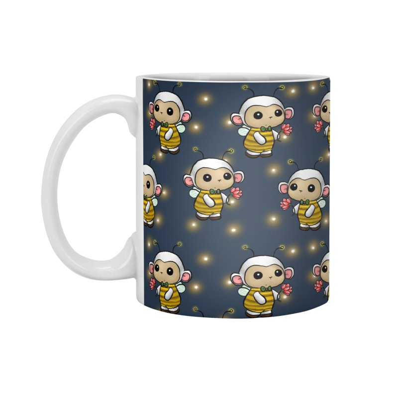 PositiviBee Lambie Accessories Mug by Dino & Panda Artist Shop