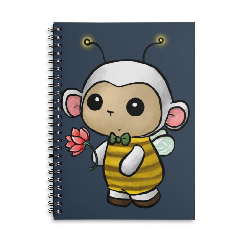 PositiviBee Lambie Accessories Notebook by Dino & Panda Artist Shop