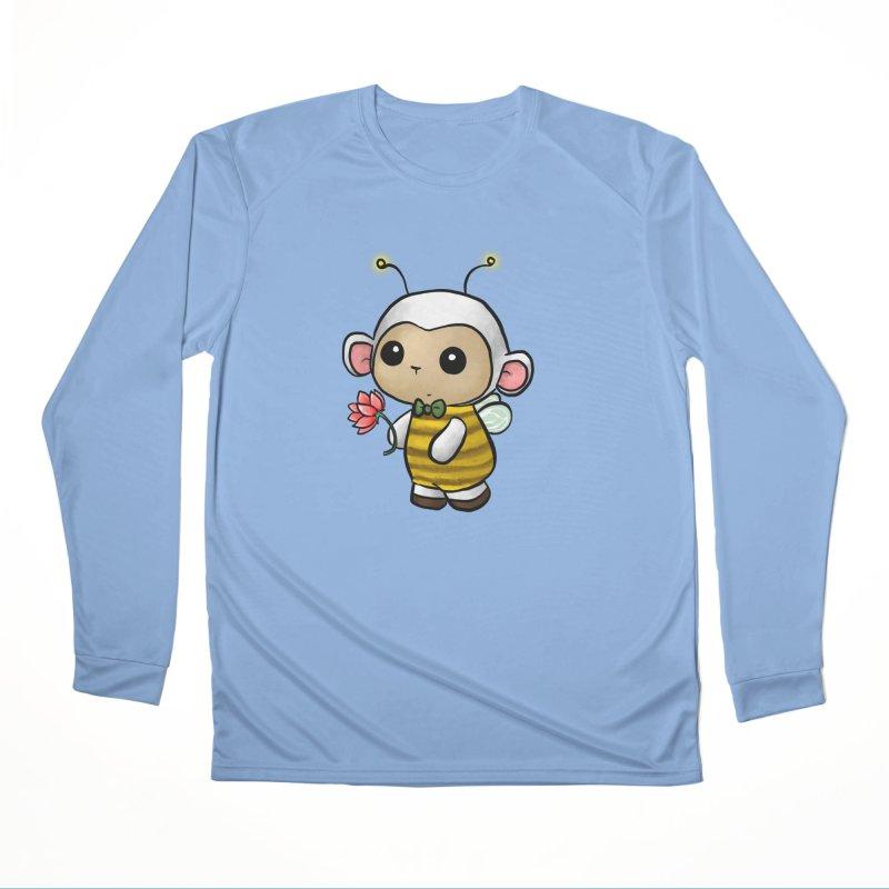 PositiviBee Lambie Men's Longsleeve T-Shirt by Dino & Panda Artist Shop