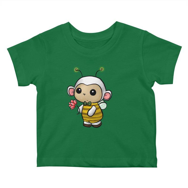 PositiviBee Lambie Kids Baby T-Shirt by Dino & Panda Artist Shop