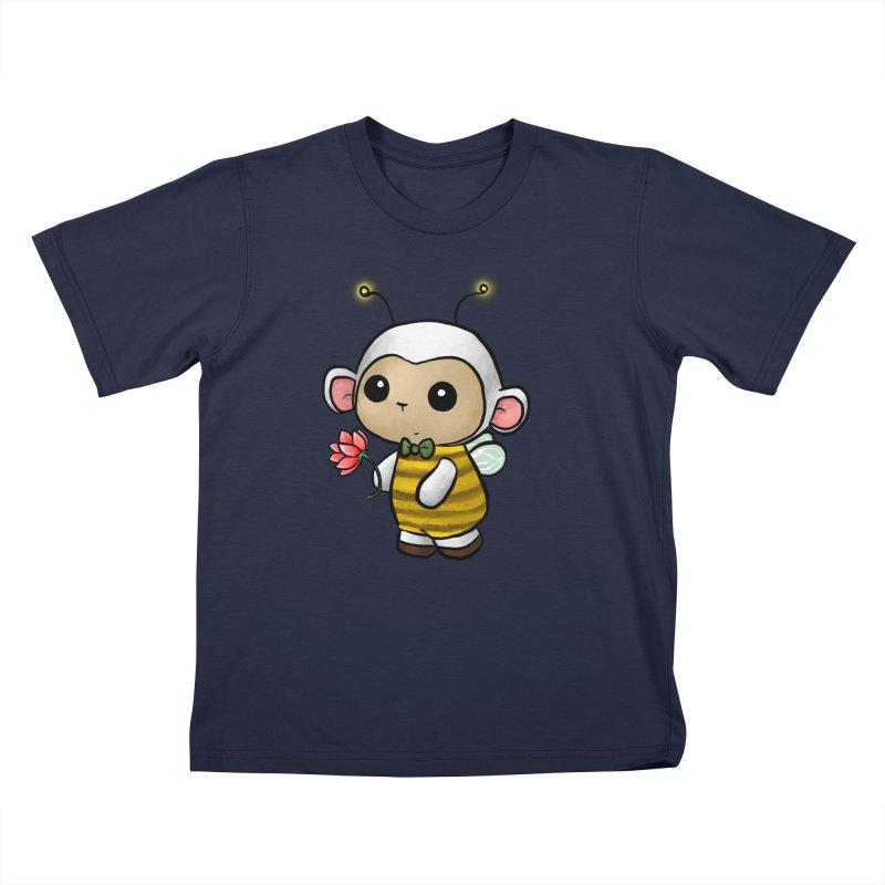 PositiviBee Lambie Kids T-Shirt by Dino & Panda Artist Shop