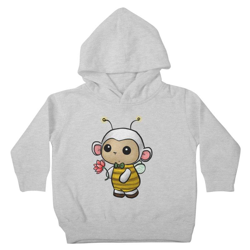 PositiviBee Lambie Kids Toddler Pullover Hoody by Dino & Panda Artist Shop