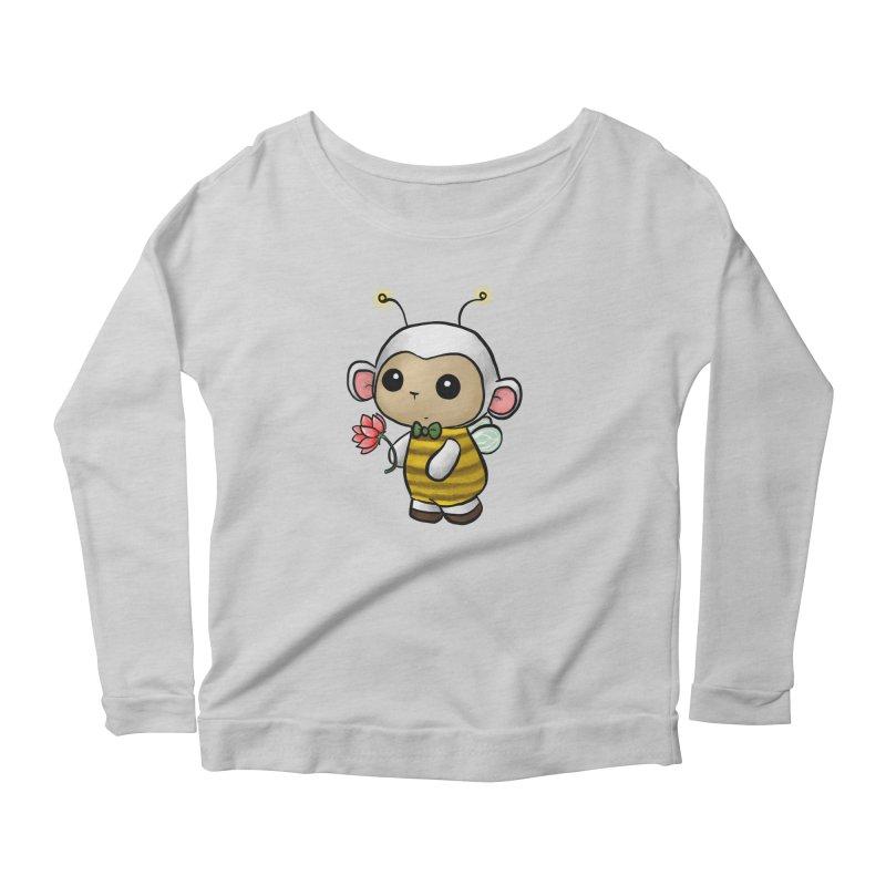 PositiviBee Lambie Women's Longsleeve T-Shirt by Dino & Panda Artist Shop