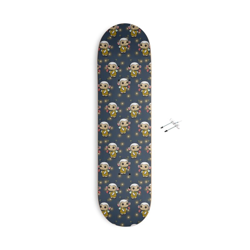 PositiviBee Lambie Accessories Skateboard by Dino & Panda Artist Shop