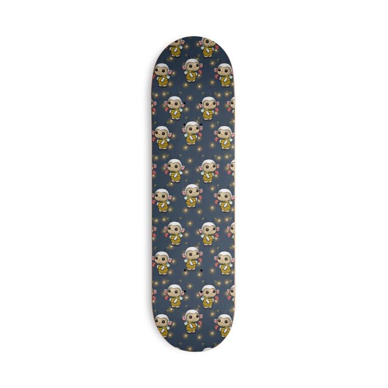 PositiviBee Lambie Accessories Skateboard by Dino & Panda Artist Shop