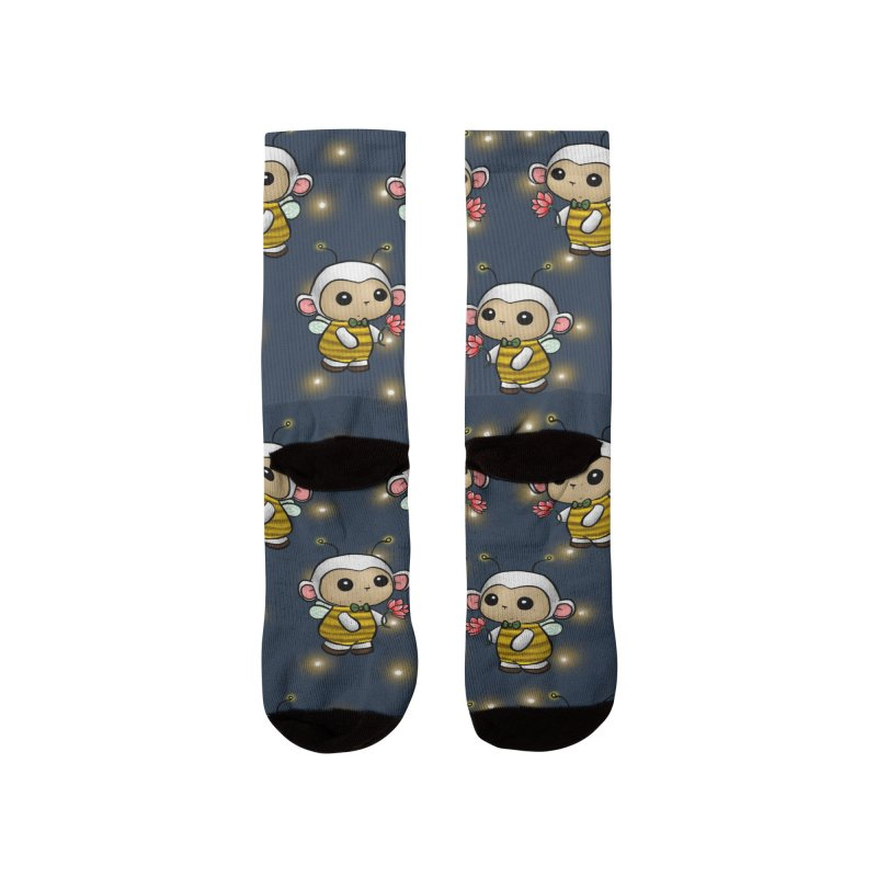 PositiviBee Lambie Men's Socks by Dino & Panda Artist Shop