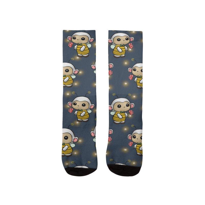 PositiviBee Lambie Women's Socks by Dino & Panda Artist Shop