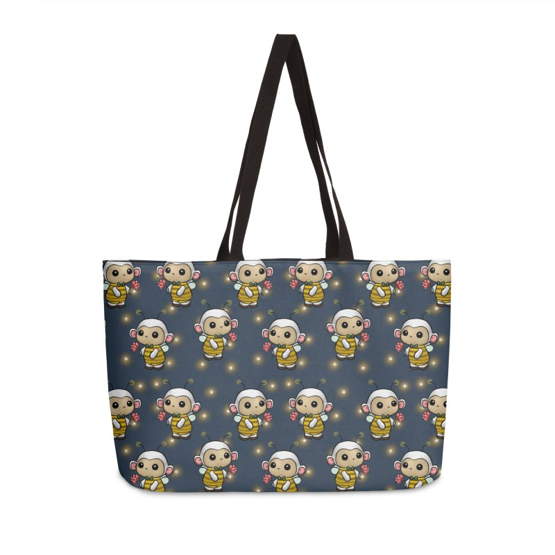 PositiviBee Lambie Accessories Bag by Dino & Panda Artist Shop
