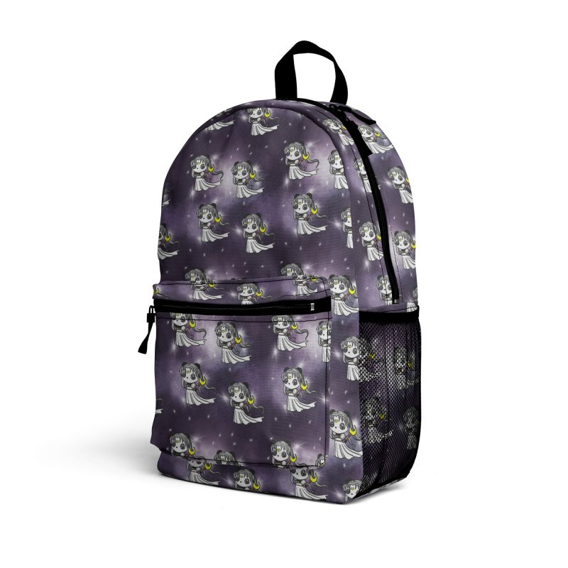 Princess Panda Serenity Galaxy Pattern Accessories Bag by Dino & Panda Artist Shop