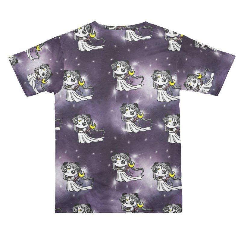 Princess Panda Serenity Galaxy Pattern Men's Cut & Sew by Dino & Panda Artist Shop