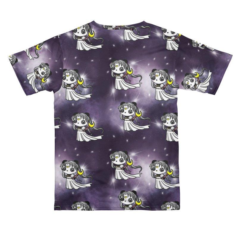 Princess Panda Serenity Galaxy Pattern Women's Cut & Sew by Dino & Panda Artist Shop