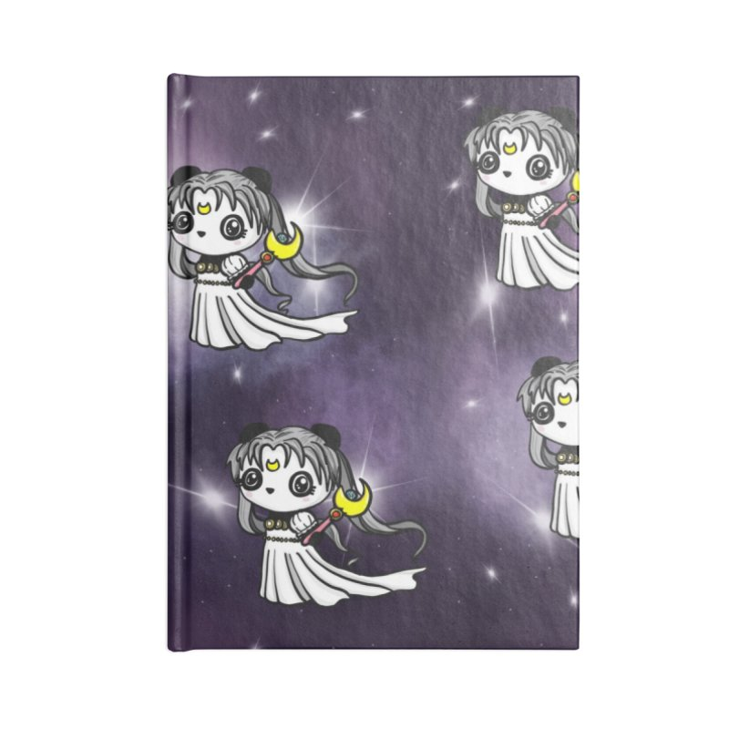 Princess Panda Serenity Galaxy Pattern Accessories Notebook by Dino & Panda Artist Shop