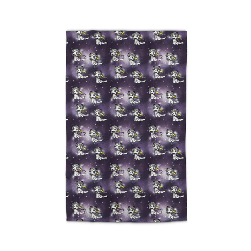 Princess Panda Serenity Galaxy Pattern Home Rug by Dino & Panda Artist Shop