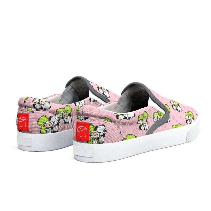 Dino & Panda Inc Men's Shoes by Dino & Panda Artist Shop