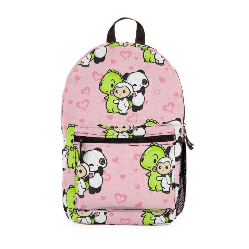 Dino & Panda Inc Accessories Bag by Dino & Panda Artist Shop
