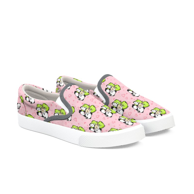Dino & Panda Inc Men's Shoes by Dino & Panda Artist Shop
