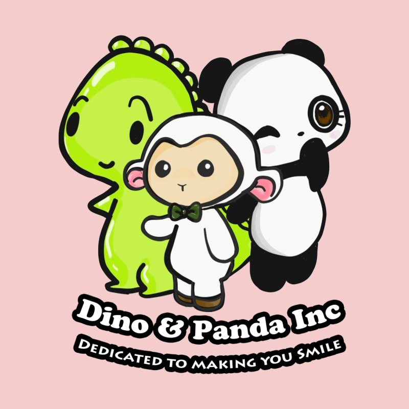 Dino & Panda Inc Accessories Bag by Dino & Panda Artist Shop