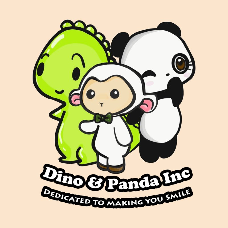 Dino & Panda Inc Accessories Bag by Dino & Panda Inc Artist Shop