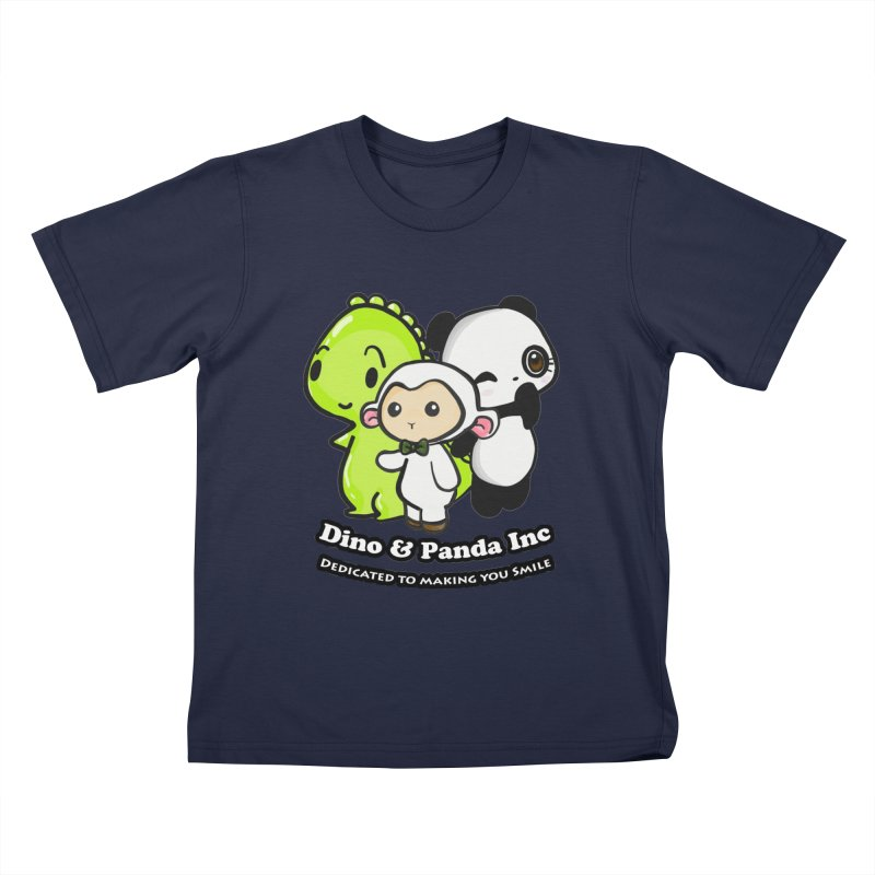 Dino & Panda Inc Kids Toddler T-Shirt by Dino & Panda Inc Artist Shop