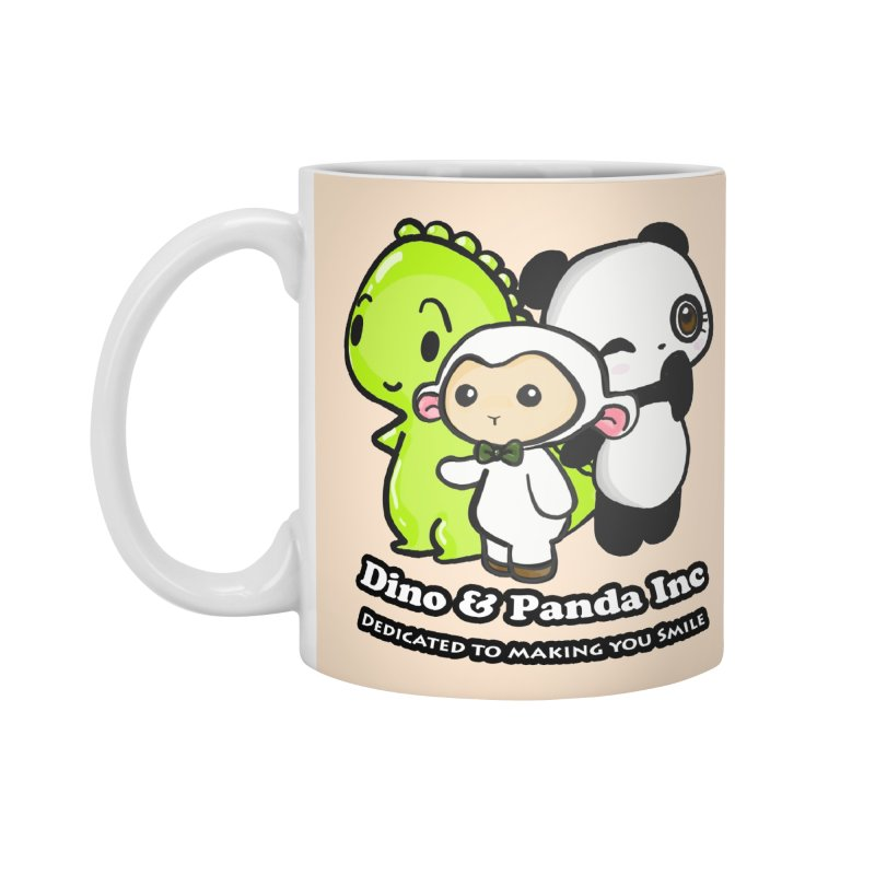 Dino & Panda Inc Accessories Mug by Dino & Panda Inc Artist Shop