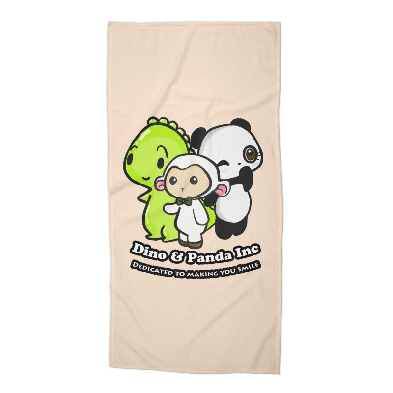 Dino & Panda Inc Accessories Beach Towel by Dino & Panda Inc Artist Shop