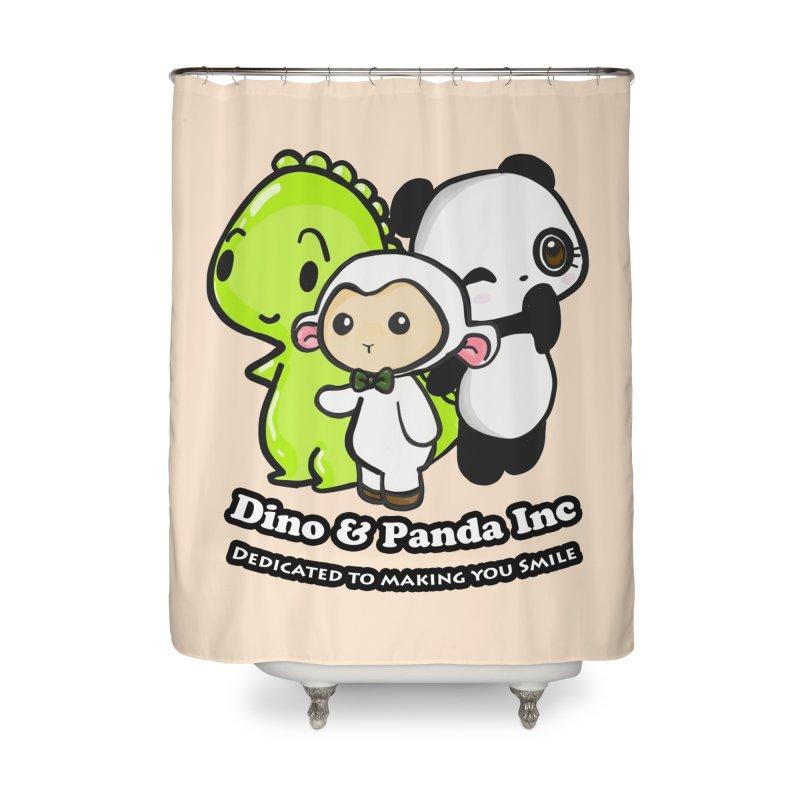 Dino & Panda Inc Home Shower Curtain by Dino & Panda Inc Artist Shop