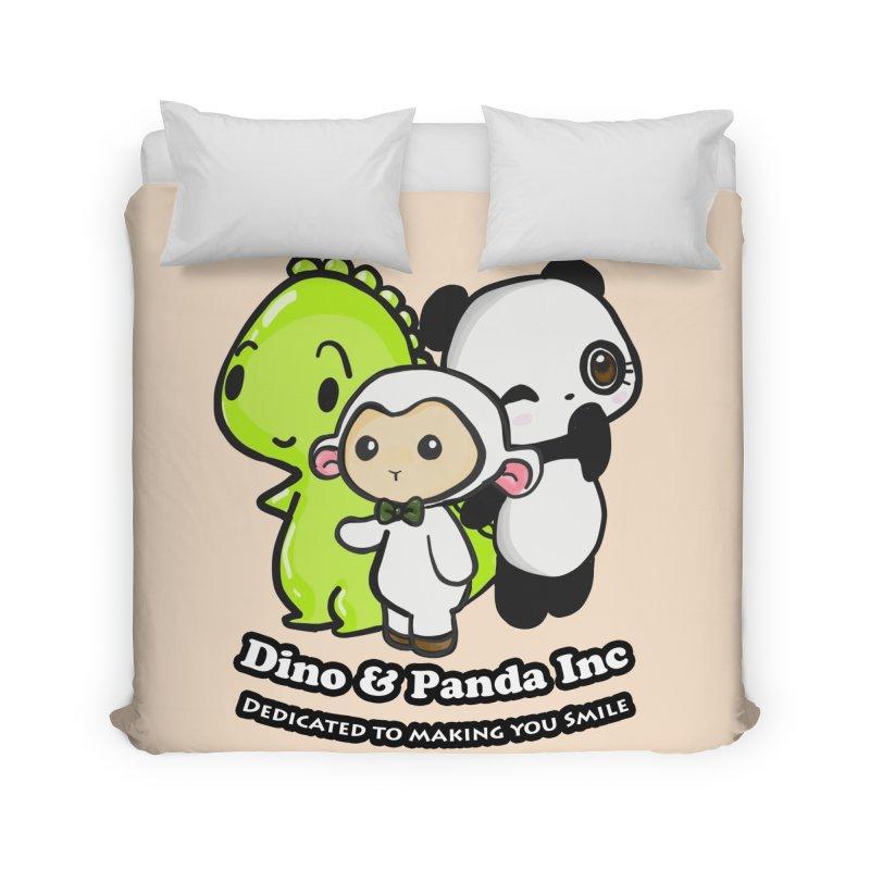 Dino & Panda Inc Home Duvet by Dino & Panda Inc Artist Shop